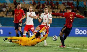 إسبانيا تتعثر امام بولندا في بطولة أمم أوروبا