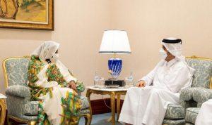 محادثات سودانية – قطرية  بشأن أزمة سد النهضة