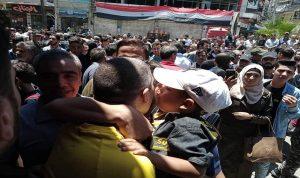 الإفراج عن 32 معتقلا في ريف دمشق