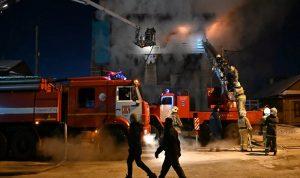 اندلاع حريق بمستشفى في طهران… وإصابة 7 أشخاص