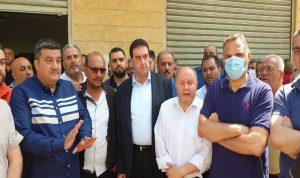 اعتصام لمتعاقدي الضمان في طرابلس