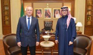 بخاري استقبل السفير الروسي