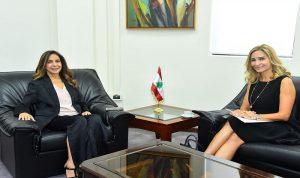 العلاقات الثنائية بين عكر وسفيرة سويسرا