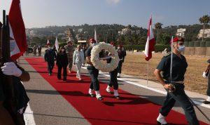 وزيرة الدفاع النمسوية أكدت دعم بلادها للبنان