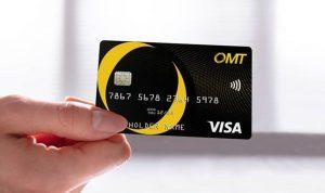بطاقة OMT فيزا المسبقة الدفع… بالليرة والدولار