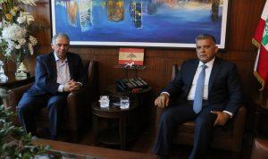 ابراهيم استقبل السفير الفلسطيني