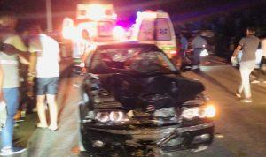قتيل و5 جرحى بحادث سير على طريق عدلون