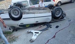 قتيل وجريح بحادث سير على طريق عام كفردجال-النبطية