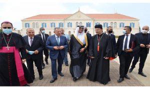 """""""زواج ماروني"""" بين لبنان والسعودية"""