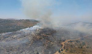 السيطرة عليه صعبة.. حريق كبير في خراج بزال- عكار