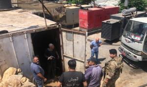 الجيش يُوزّع المازوت على أصحاب المولدات في طرابلس