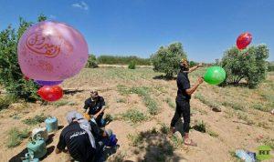 في إسرائيل… 4 حرائق جراء البالونات الحارقة من غزة