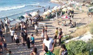 إنقاذ 3 اشخاص من الغرق عند شاطئ الغازية
