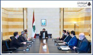 ملف الترانزيت عبر سوريا على طاولة دياب