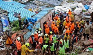الهند.. مقتل 129 شخصًا بسبب انهيارات أرضية
