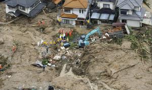 في اليابان… إخلاء آلاف المنازل بسبب الأمطار الغزيرة (فيديو)