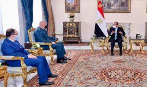 قائد الجيش زار مصر… وهذه تفاصيل لقاءاته