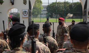 العماد عون: المؤسسة العسكرية خلاص هذا الوطن