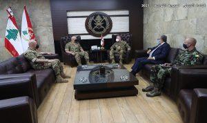 أوضاع المنطقة الحدودية بين قائد الجيش ودل كول