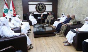 الأوضاع والتطورات بين قائد الجيش ووزير خارجية قطر