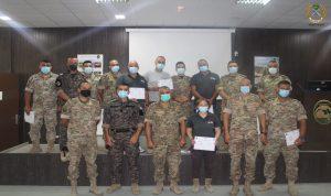 تخريج عناصر من الجيش وقوى الأمن
