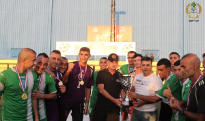 فوز منتخب الجيش بكأس لبنان بالميني فوتبول