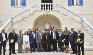 لقاء خاص بين الراعي ومجلس التنفيذيين اللبنانيين