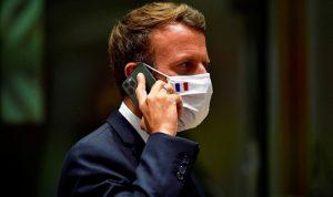 """ماكرون يطالب بينيت بـ """"توضيحات"""" حول برنامج التجسس"""