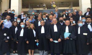 خلف: لا إمكان لسقوط رسالة المحاماة داخل لبنان