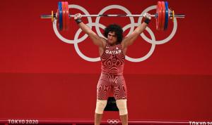 قطر تفوز بأول ذهبية أولمبية في تاريخها