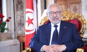 """الغنوشي: أدعو التونسيين إلى """"النضال السلمي"""""""