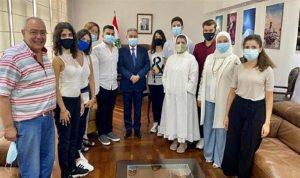 المشرفية التقى المشاركين بمسابقة منظمة السياحة العالمية