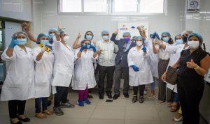 """مؤسسة رينه معوض تفتتح مشروع """"المطبخ الصناعي"""" بقاع الريم"""