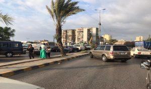 قطع طريق مدخل صيدا احتجاجا على تقنين الكهرباء