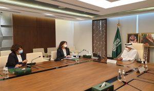 لقاءان للسفيرتين شيا وغريو في الرياض.. إليكم التفاصيل