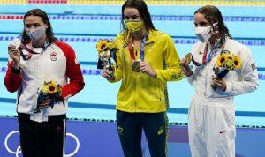 أولمبياد طوكيو.. السباحة الأسترالية ماكيون تسجّل رقمًا أولمبيًا