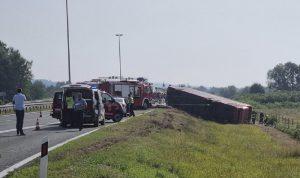 كرواتيا… 10 قتلى و30 جريحا جراء تدهور حافلة