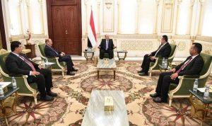 الرئيس اليمني: الحوثيون مصرون على تدمير مقدرات البلاد