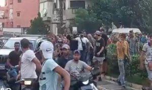 مسيرة جابت شوارع ابي سمراء احتجاجًا على انقطاع الكهرباء