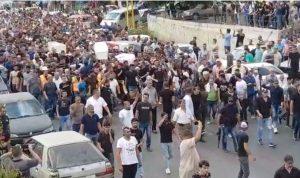 تشييع جماعي لضحايا انفجار التليل