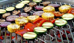 مأكولات نباتية يمكن شَويها على الباربيكيو