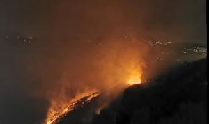 إخماد حريق في بلدة رحبة العكارية