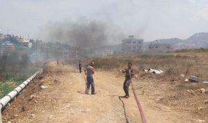 إخماد حريق في خراج برقايل والقرقف-عكار