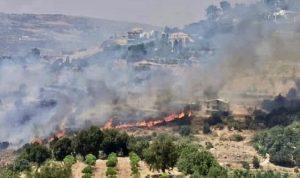 تجدّد الحريق في باتر-الشوف… والأهالي يناشدون