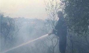 استمرار عمليات إخماد حريق قرطبا