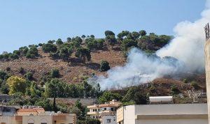حريق كبير في بلدة محيبيب