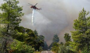 اليونان… إجلاء السكان مع اندلاع حرائق جديدة