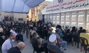 مستشفى جبل عامل: عدد لقاحات كورونا تجاوز 37 ألفًا
