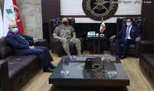 قائد الجيش استقبل سفير لبنان لدى عمان