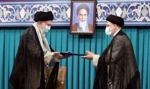 خامنئي ينصّب رئيسي رئيساً جديداً لإيران